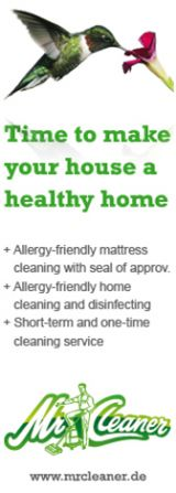 Time to make your house a healty home ... www.mrcleaner.de