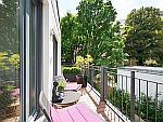 Exklusive Designer-Wohnung mit Balkon im Zentrum von München - Au