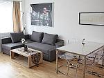 Hochwertig möblierte 2-Zimmer-Wohnung in München - Freimann