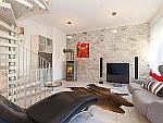 Premium - Exklusive 3-Zimmer-Loftwohnung auf drei Etagen mit Balkon und Stellplatz in München - Schwabing