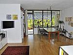 Gro&szlig;z&uuml;gig m&ouml;blierte 1-Zimmer-Dachterrassen-Wohnung mit Tiefgarage in M&uuml;nchen - Sendling<br /><br />