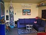 Ruhige, sonnige, offene 2-Zimmer-Wohnung mit Balkon am Flaucher in München - Thalkirchen *** nur im Oktober 2014!!!!!