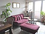 Ruhige 2,5-Zimmer-Wohnung mit 2,5 Balkonen in München - Obersendling