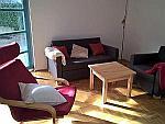 Sonnige und ruhige 3-Zimmer Gartenwohnung mit Terrasse und eigenem Garten in München - Unterhaching