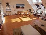 Hochwertige 2-Zimmer-Penthousewohnung mit Balkon in München - Isarvostadt
