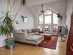Premium! Möblierte 3-Zimmer Dachgeschosswohnung mit Dachterrasse in München - Thalkirchen